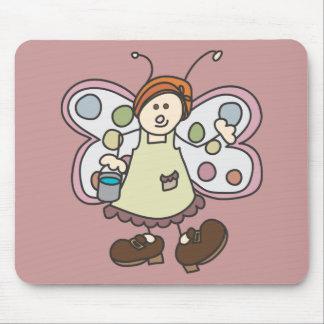 Dibujo animado de hadas Mousepad de la señora de l