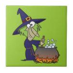 dibujo animado de Halloween del brew de los witchs Tejas