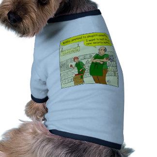 dibujo animado de hurto en tiendas del macis 371 camisa de perro