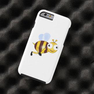 Dibujo animado de la abeja funda resistente iPhone 6