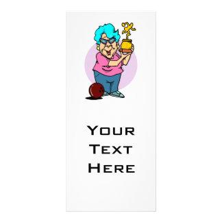 dibujo animado de la abuelita del campeón de los b tarjetas publicitarias personalizadas