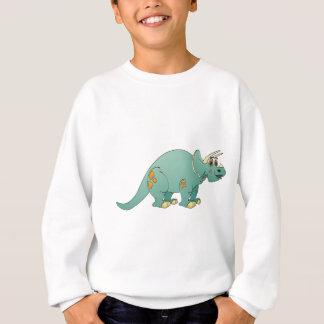 Dibujo animado de la aguamarina de Triceratop Poleras