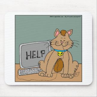 dibujo animado de la ayuda del ratón de 631 alfombrillas de ratón