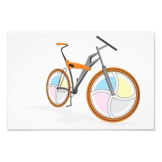 Dibujo animado de la bicicleta fotos