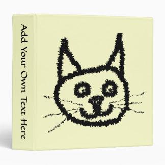 """Dibujo animado de la cara del gato negro. En la Carpeta 1 1/2"""""""