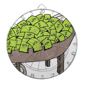 Dibujo animado de la carretilla de rueda del
