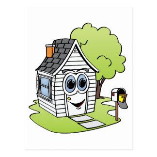 Dibujo animado de la Casa Blanca Tarjetas Postales