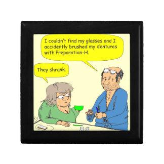 dibujo animado de la crema del hemorrhoid de 408 caja de regalo