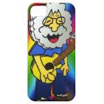 dibujo animado de la estrella del rock del vintage iPhone 5 Case-Mate cárcasas