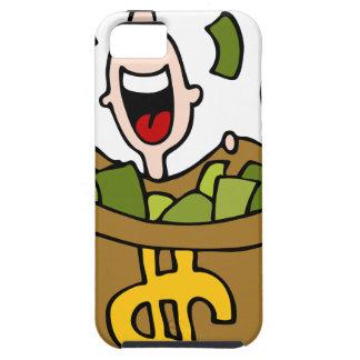 Dibujo animado de la ganancia inesperada iPhone 5 protectores