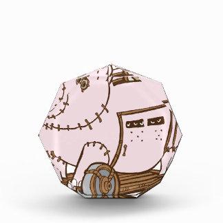 Dibujo animado de la hucha del Trojan Horse