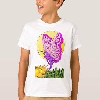 Dibujo animado de la mariposa playera