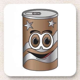 Dibujo animado de la poder de soda de Brown Posavasos De Bebida