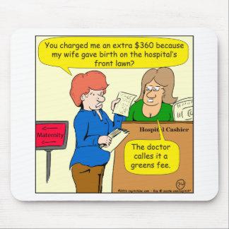 dibujo animado de la tarifa de 804 verdes tapetes de ratón