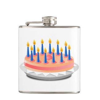 Dibujo animado de la torta de cumpleaños