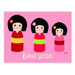 Dibujo animado de las hermanas de la muñeca de Kok