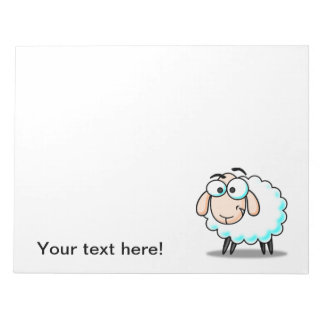 Dibujo animado de las ovejas bloc