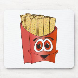 Dibujo animado de las patatas fritas tapetes de ratones