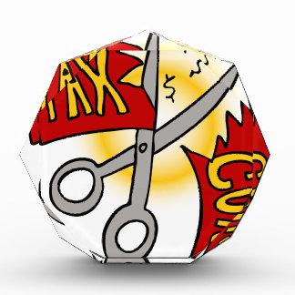 Dibujo animado de las reducciones de impuestos