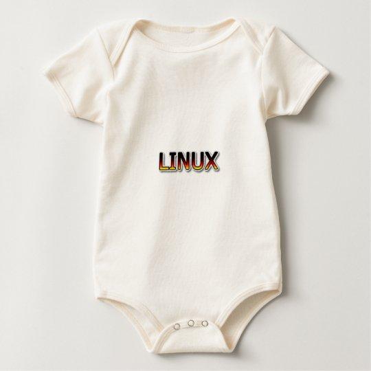 Dibujo animado de LINUX Body Para Bebé