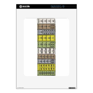 Dibujo animado de los cabinetes de archivo iPad calcomanía