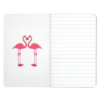 Dibujo animado de los flamencos cuadernos grapados