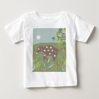 Dibujo animado de los tebeos del carácter de VACA Camisas