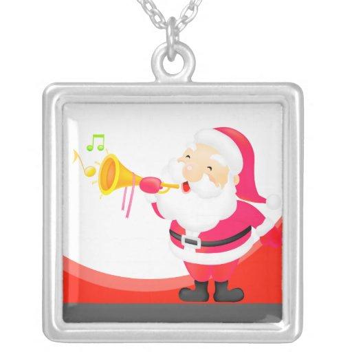 Dibujo animado de Papá Noel Joyeria Personalizada