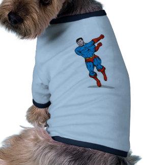 dibujo animado de perforación de funcionamiento de ropa perro