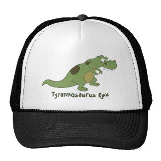 Dibujo animado de Rex del Tyrannosaurus Gorro De Camionero