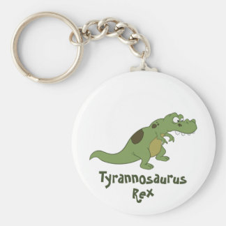 Dibujo animado de Rex del Tyrannosaurus Llavero