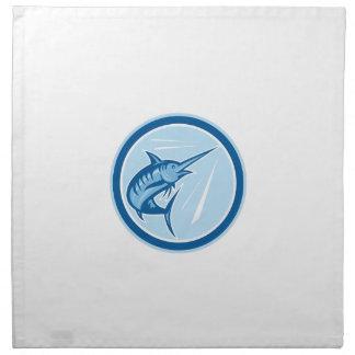 Dibujo animado de salto del círculo de los servilleta