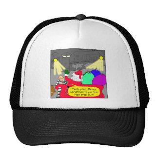 dibujo animado de santa del escape de 515 gorras