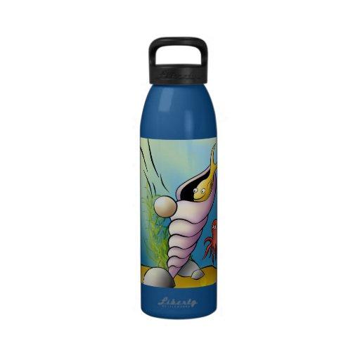 Dibujo animado de Sealife Botallas De Agua