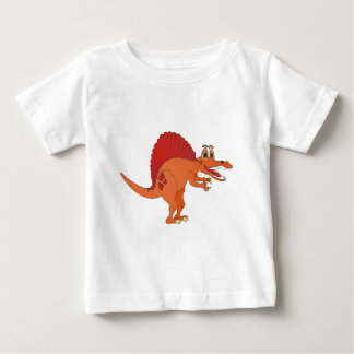 Dibujo animado de Spinosaurus Playera De Bebé