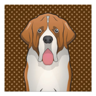 Dibujo animado de St Bernard (St Bernard) Fotografía