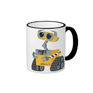 Dibujo animado de WALL-E Taza De Dos Colores