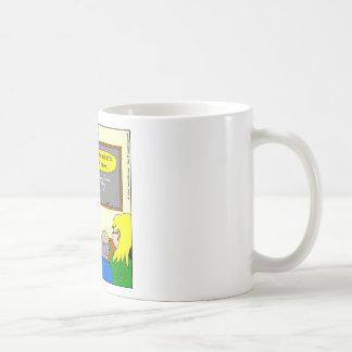 dibujo animado del apéndice del libro de la taza clásica