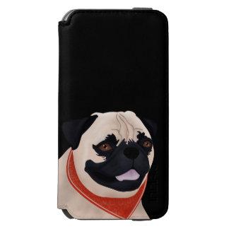 Dibujo animado del barro amasado funda billetera para iPhone 6 watson