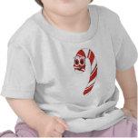Dibujo animado del bastón de caramelo camiseta