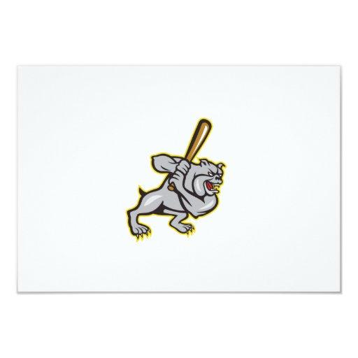 Dibujo animado del bateo del bateador del béisbol anuncios personalizados