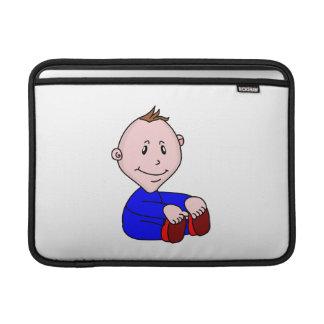 Dibujo animado del bebé funda macbook air