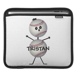 Dibujo animado del béisbol mangas de iPad