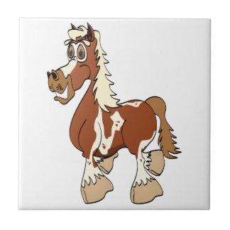 Dibujo animado del caballo del Pinto