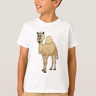 Dibujo animado del camello playera