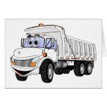 dibujo animado del camión volquete 3WA Tarjetas