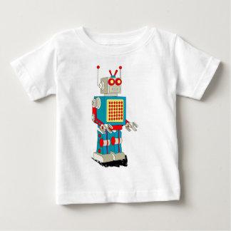 Dibujo animado del carácter del robot t-shirt