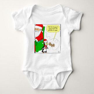 dibujo animado del colibrí del azúcar del navidad tee shirts