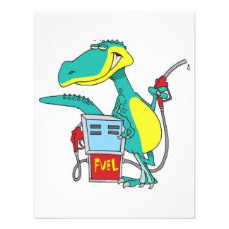 dibujo animado del combustible fósil de la bomba d comunicados