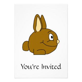 Dibujo animado del conejo de Brown